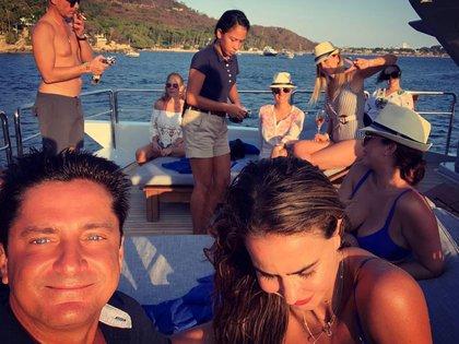 El SKY ha sido disfrutado por Luis Miguel y sus amigos durante 7 años (Foto: Instagram Alejandro Basteri)