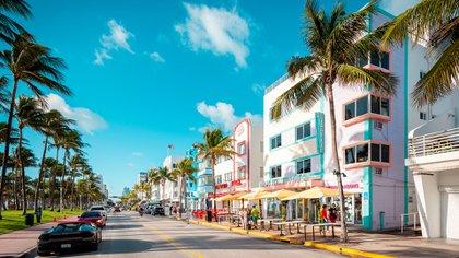 Miami mantiene viva su vida social aún en tiempos de pandemia (Shutterstock)
