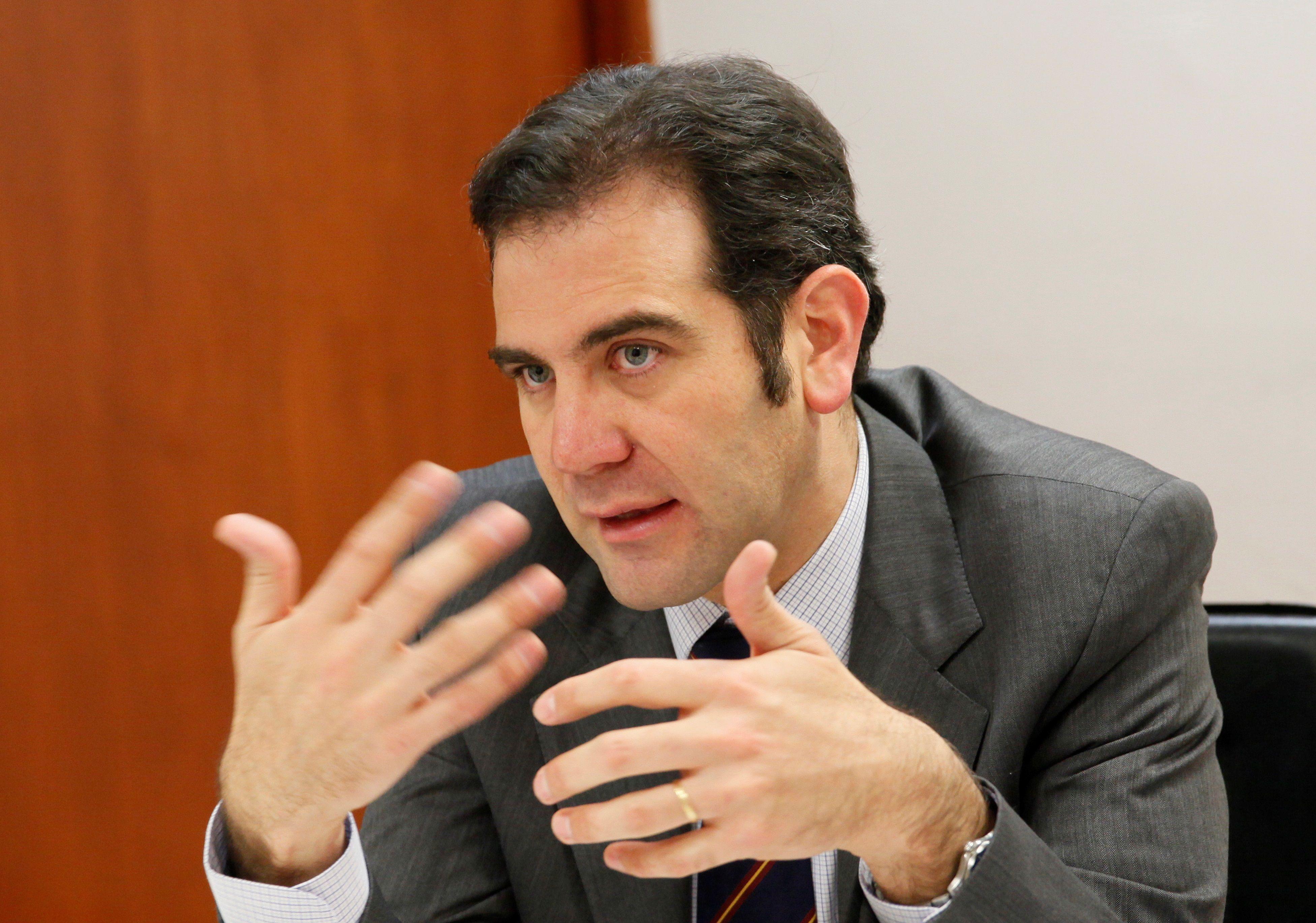 El presidente del INE, Lorenzo Córdova. EFE/Mario Guzmán/Archivo