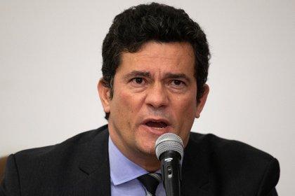 El ex juez Sergio Moro, que fue también el primer ministro de Justicia de Bolsonaro (EFE/Joédson Alves/Archivo)