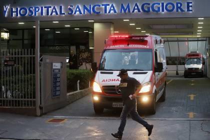 El Hospital Sancta Maggiore en San Pablo, Brasil (REUTERS/Rahel Patrasso)