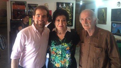 Fernando Canek, hijo de la comediante, resaltó la trayectoria que tuvo su madre en el espectáculo mexicano. (Foto: Twitter@FernandoCanek)