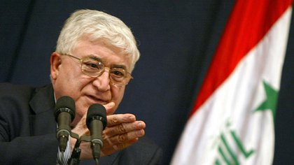 El presidente iraquí Fuad Masum krgspain.org 163