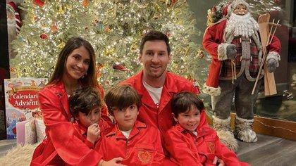 Messi pasa las fiestas junto a su familia en Rosario: recibió un permiso especial del Barcelona para extender su licencia hasta Año Nuevo
