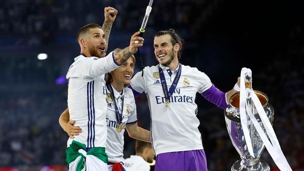 Luka Modric viene de ganar tres Champions League seguidas en Real Madrid (Reuters)