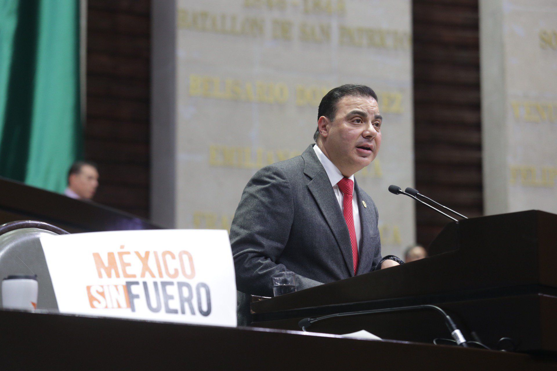 Jorge Alcibiades García Lara es diputado de Baja California y comenzó su periodo legislativo en 2018 (Foto: Twitter/@J_GarciaLaraMX)