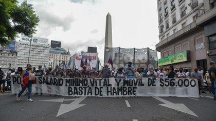 El pedido de los manifestantes