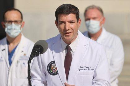 Sean Conley, médico de la Casa Blanca