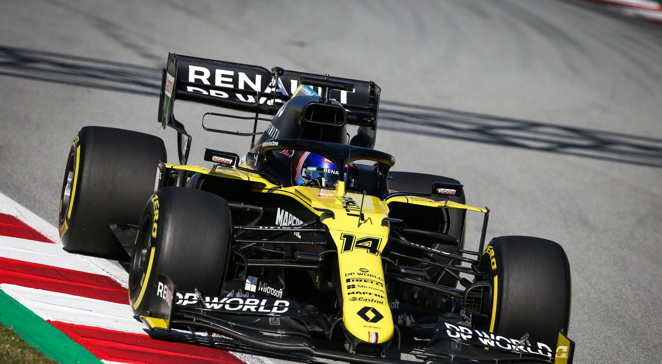 El monoplaza que utilizó Renault en 2020 (Europa Press)