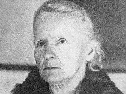 Marie, en 1931. Ella falleció en 1934.