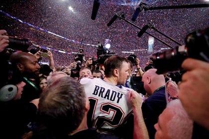 Los New England Patriots son los últimos campeones - REUTERS/Mike Segar/File Photo
