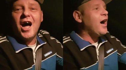 Segundos antes del accidente, el músico saludó a sus seguidores a través de las redes sociales