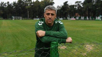 Hernán Crespo analizó el paso de la Selección por la última Copa América (Maximiliano Luna)