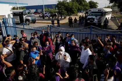 """En documento de su detención se nombró a un tribunal laboral local como una de las partes """"ofendidas"""". (Foto: Reuters/Jose Luis Gonzalez)"""