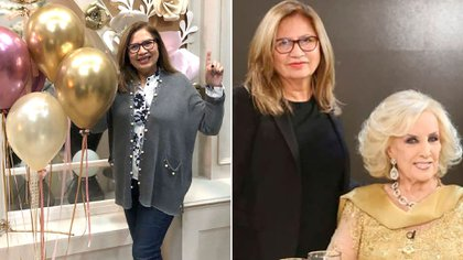 """Murió Lía, la histórica peluquera de Mirtha Legrand: """"Así es la vida, te da y te quita"""""""