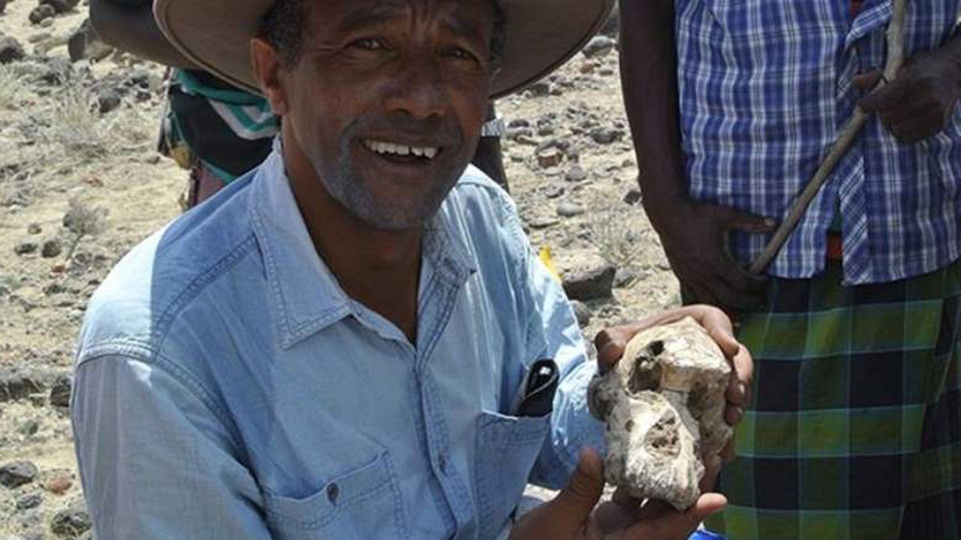fósil fue descubierto en la localidad de Miro Dora, en la región de Afar en Etiopía, no lejos donde también fueron encontrados los restos de Lucy (EFE)