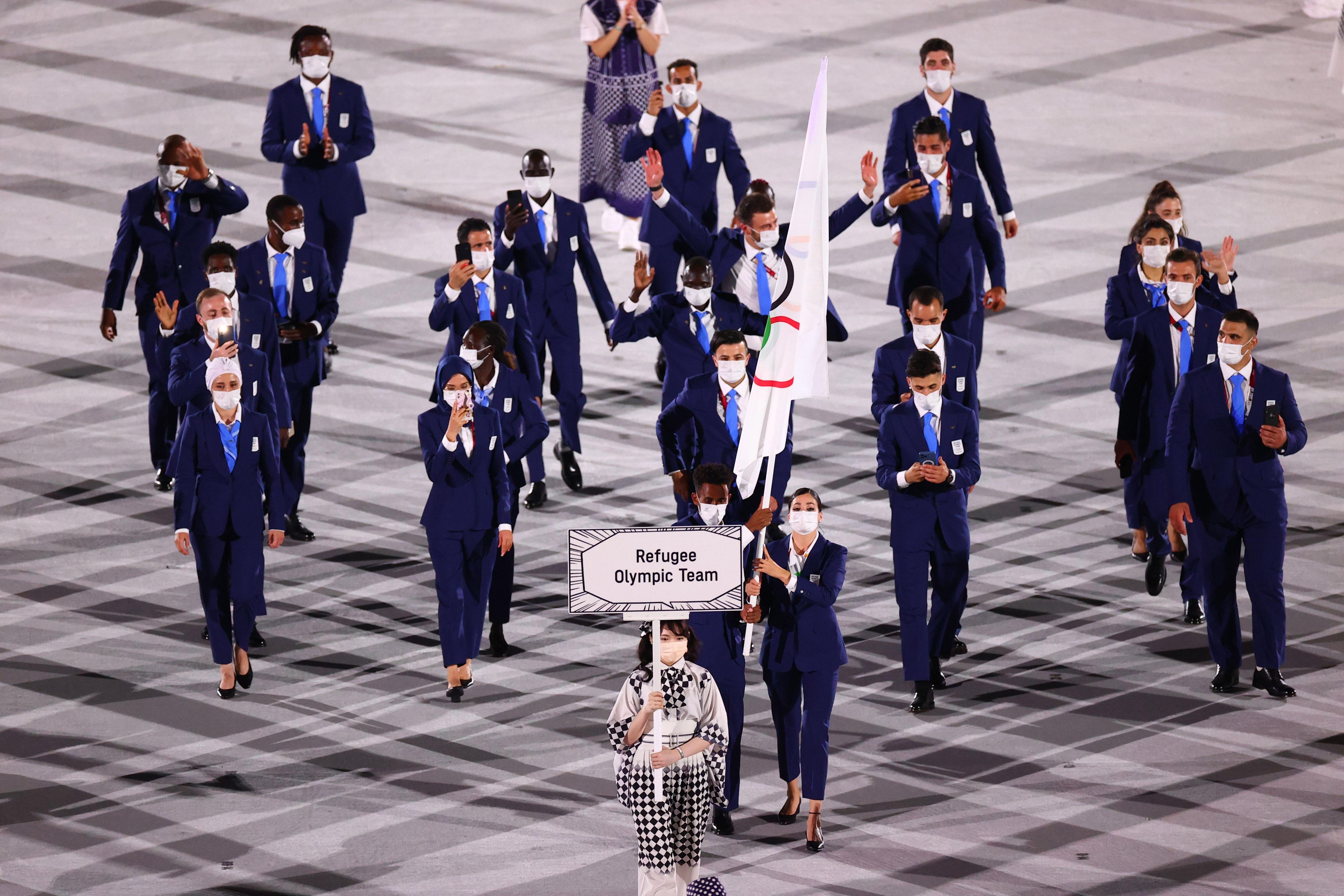 En esta edición, el equipo olímpico de Refugiados cuenta con 29 atletas de 11 países diferentes (REUTERS/Mike Blake)