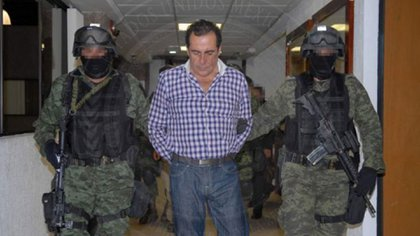 El esposo de Clara Elena, Héctor Beltrán Leyva, detenido en 2014