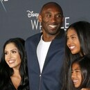 Mandatory Credit: Photo by Lumeimages/Shutterstock (10540113a) Kobe Bryant, Vanessa Laine, Gianna Bryant and Natalia Bryant 'A Wrinkle in Time' film premiere, Arrivals, El Capitan Theater, Los Angeles, USA - 26 Feb 2018