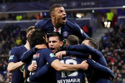 El PSG alcanzó su primera final de Champions League -REUTERS/Benoit Tessier