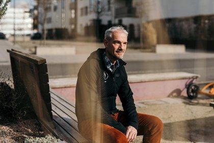 """Dieter Bartmann, uno de los primeros residentes de Bahnstadt, dijo que le gustaría cambiar algunas cosas, pero admitió que """"hay que ser realista"""""""