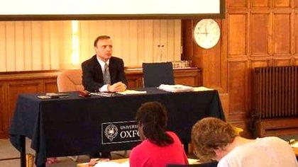 Esteban Cichello Hubner en Oxford