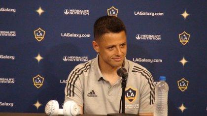 "Javier ""Chicharito"" Hernandez has five goals for the Los Angeles Galaxy (Photo: EFE / Marcelino Benito)"
