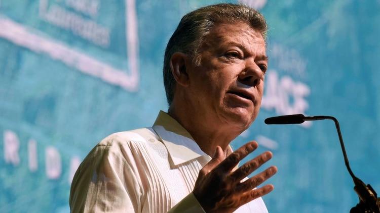 Juan Manuel Santos, presidente de Colombia entre 2010 y 2018 (Foto: EFE)