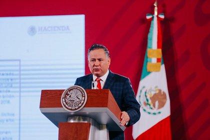 Personas cercanas al ex jefe de gobierno capitalino estarían involucradas (Foto: Twitter/ @Hacienda_Mexico)