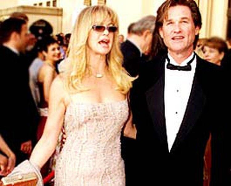 Goldie Hawn y Kurt Russell han estado juntos más de 35 años