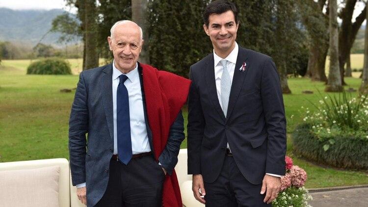 Roberto Lavagna y Juan Manuel Urtubey, la única fórmula, hasta ahora, del Frente Consenso Federal