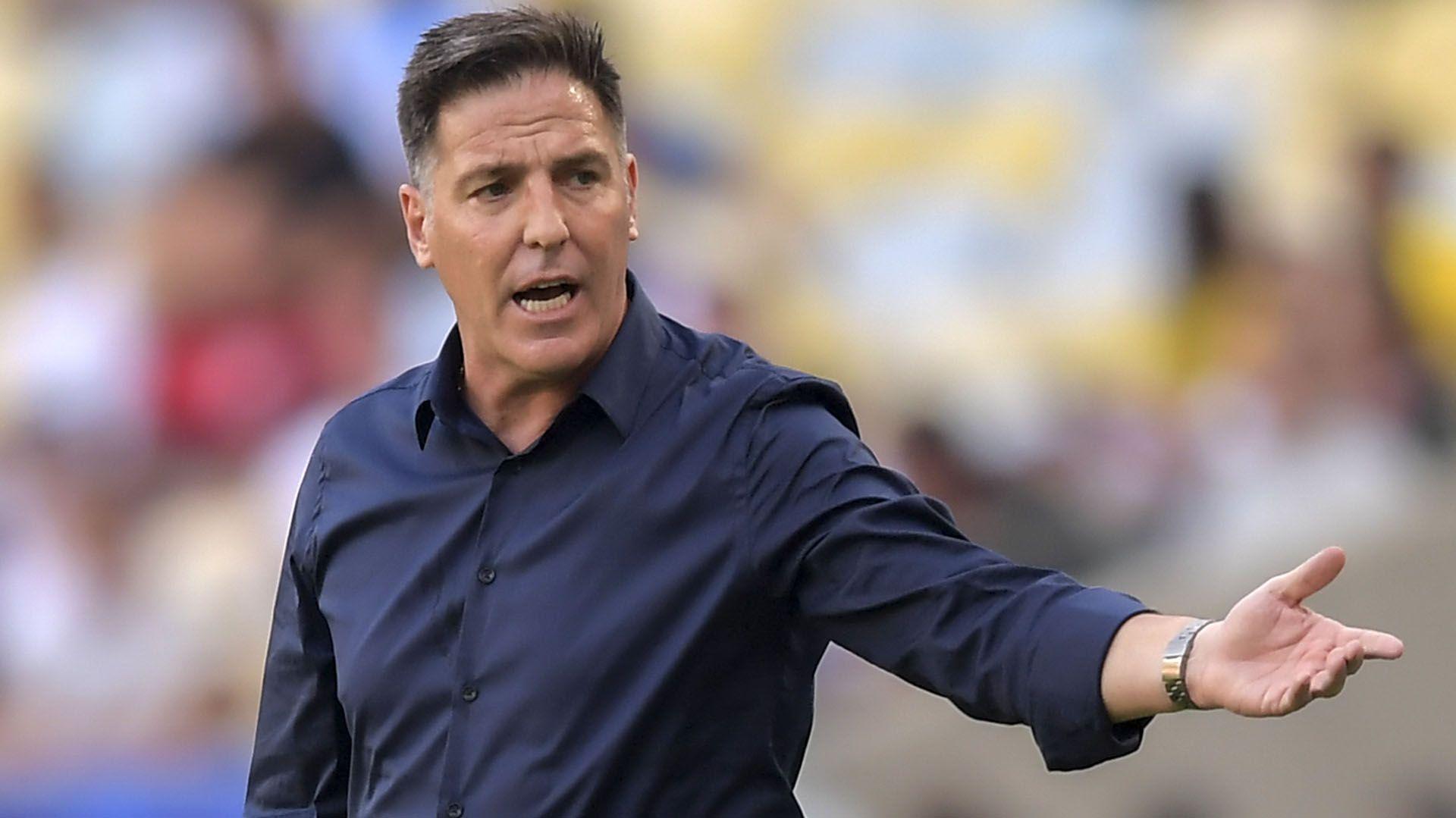 Eduardo Berizzo, entrenador argentino de la Selección de Paraguay (AFP)