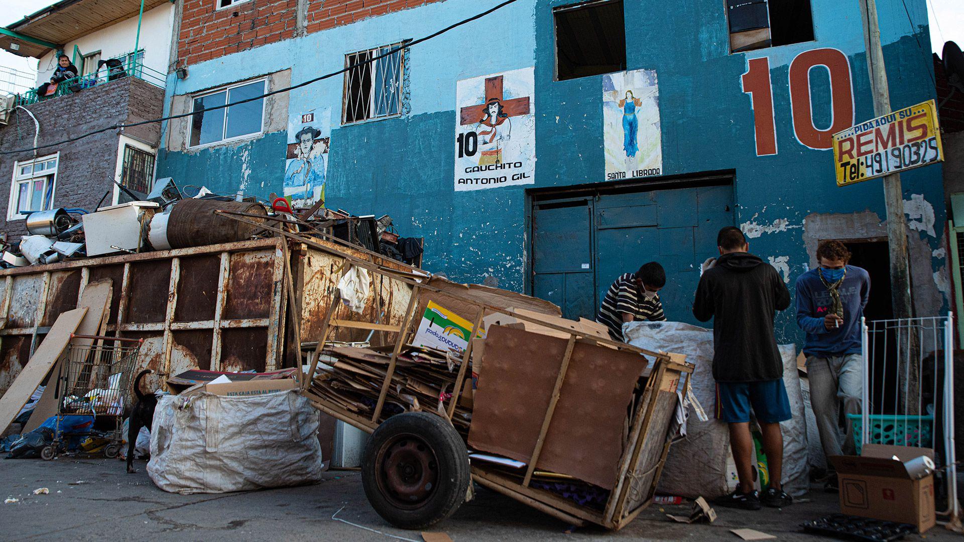 Personas en situacion de calle - coronavirus - argentina - cuarentena - pobreza