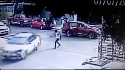 Un policía estatal fue asesinado durante un enfrentamiento con criminales (Foto:Captura de pantalla)