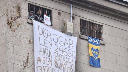 Protestas en la cárcel de Devoto