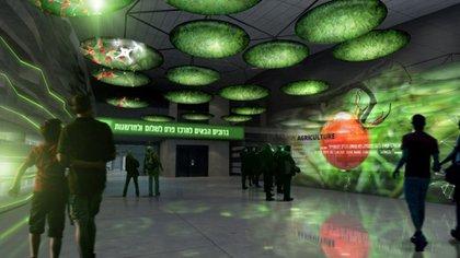 Una imagen del innovador centro de innovacion por dentro (Centro Peres)