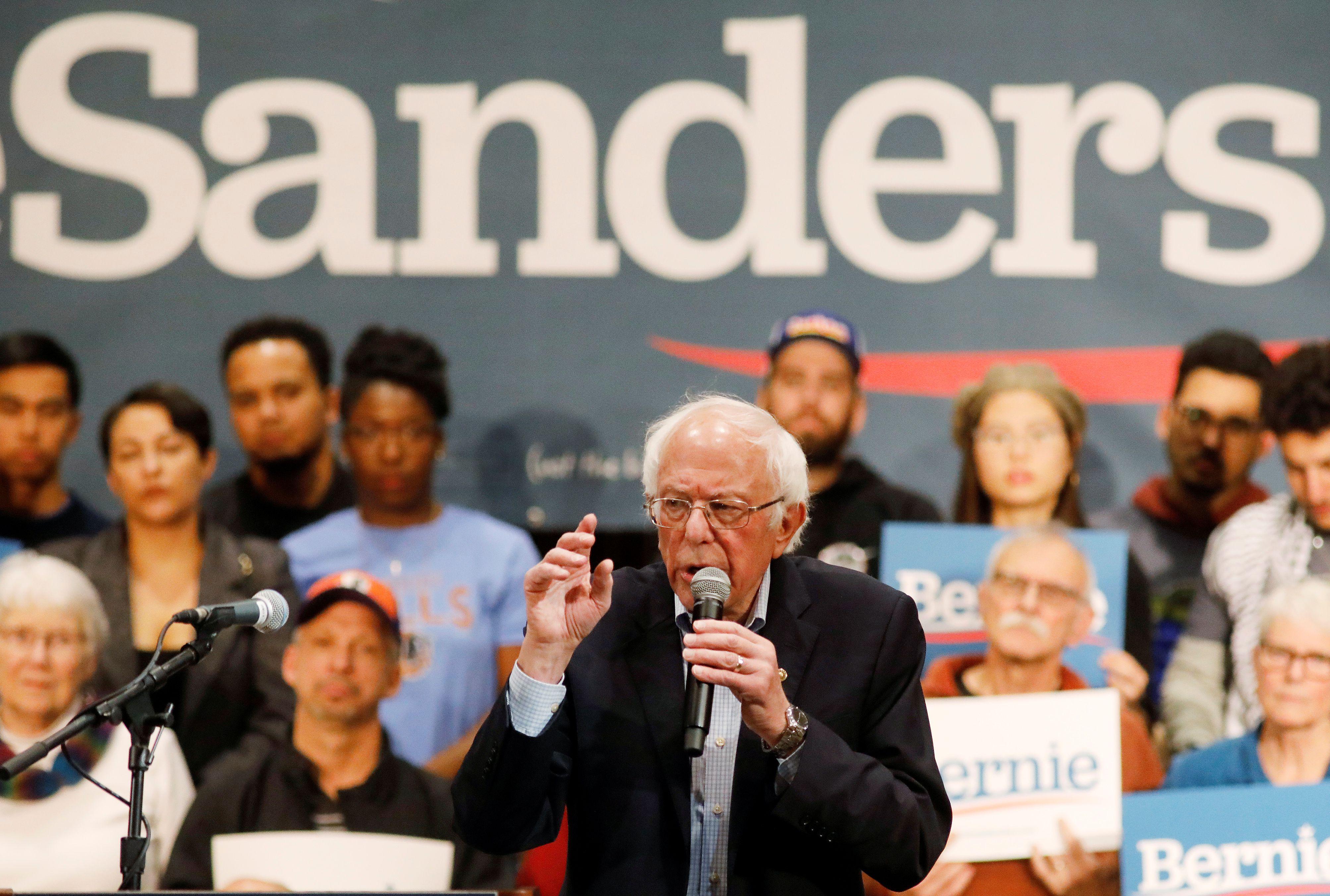 Bernie Sanders (REUTERS/Jonathan Drake)