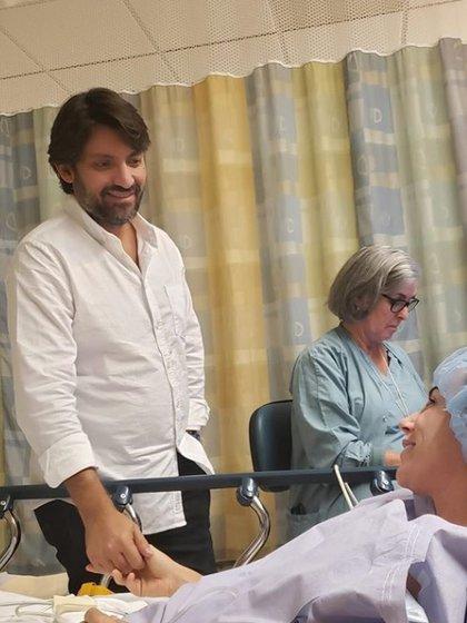 Inés Gómez Mont y su esposo
