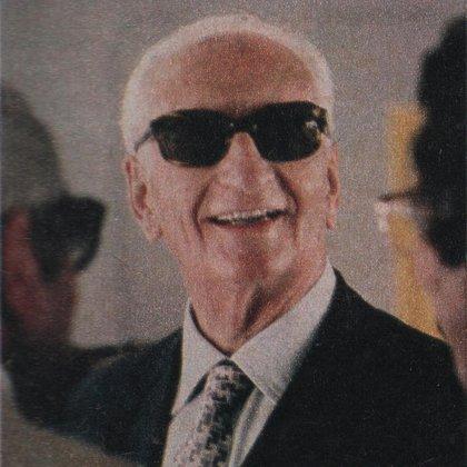 Enzo Ferrari a principios de los años ochenta (Archivo: CORSA)