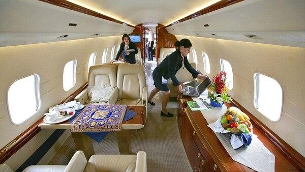 La aeronave tiene un costo de USD 42 millones