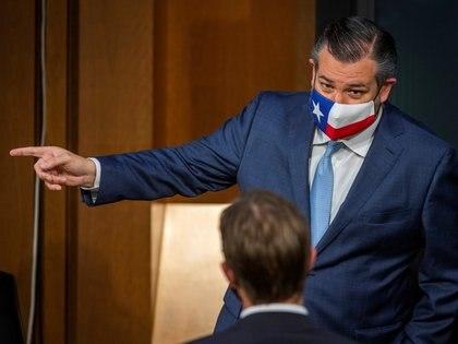 El senador de Texas Ted Cruz, fue otro de los que se quejaron de las políticas proteccionistas de AMLO (Foto: Reuters)