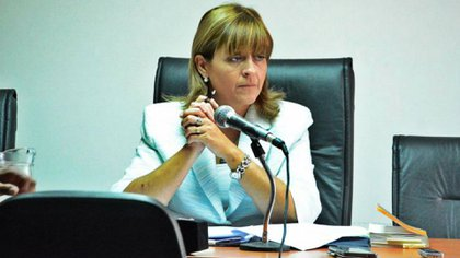 La jueza federal de Caleta Olivia, Marta Yáñez