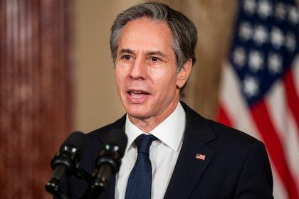 El secretario de Estado de Estados Unidos, Antony Blinken (EFE/EPA/JIM LO SCALZO)