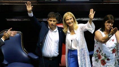La vicegobernadora, Verónica Magario, es parte de la negociación por la ley impositiva (Nicolás Aboaf)