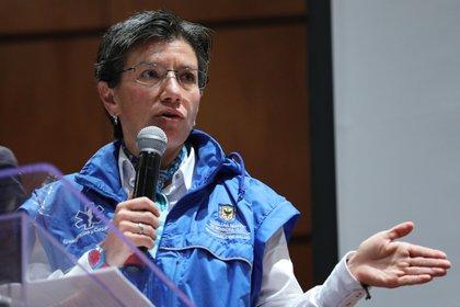 En la imagen, la alcaldesa de Bogotá, Claudia López. EFE/Carlos Ortega/Archivo