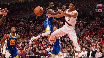 Draymond Green, clave en la clasificación de los Warriors a las finales de la NBA (Reuters)