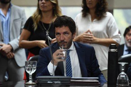 Gerónimo Ustarroz, representante del Poder Ejecutivo en el Consejo (Maximiliano Luna)