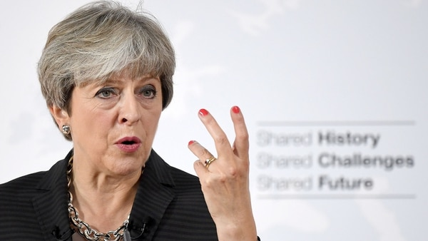 Theresa May, premier británica (Reuters)
