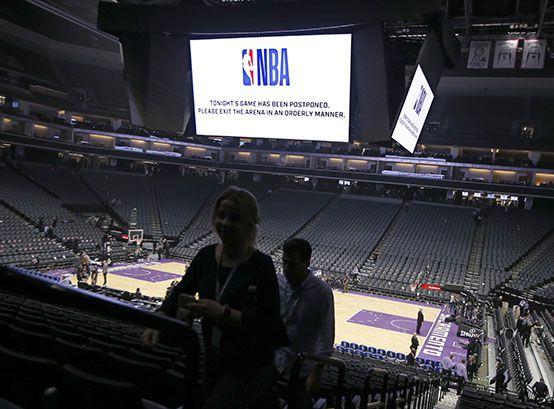 La NBA se suspendió por tiempo indeterminado (AP)