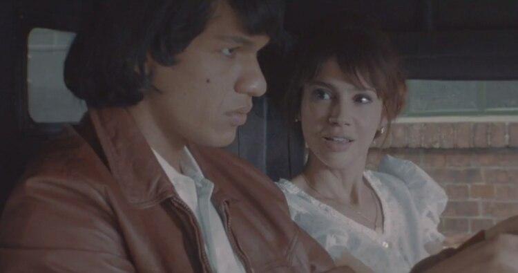 Mauricio Paniagua y Celeste Cid en la serie de Monzón (Foto Space)